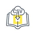 CSV一括ダウンロード機能