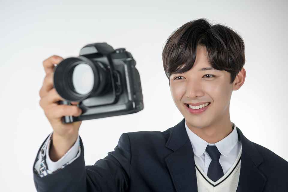 顔写真の撮影